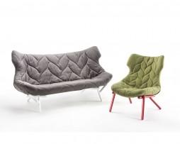 Foliage-tweezit-fauteuil-Kartell