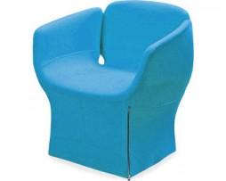 design-fauteuil-blauw-bloomy