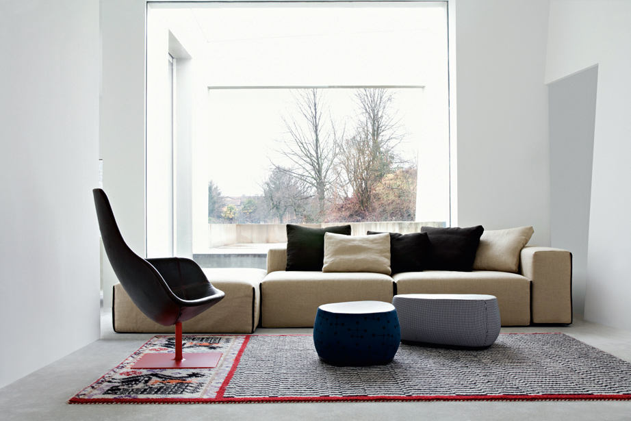 Design relaxfauteuil fjord moroso de canapee for Design zetel