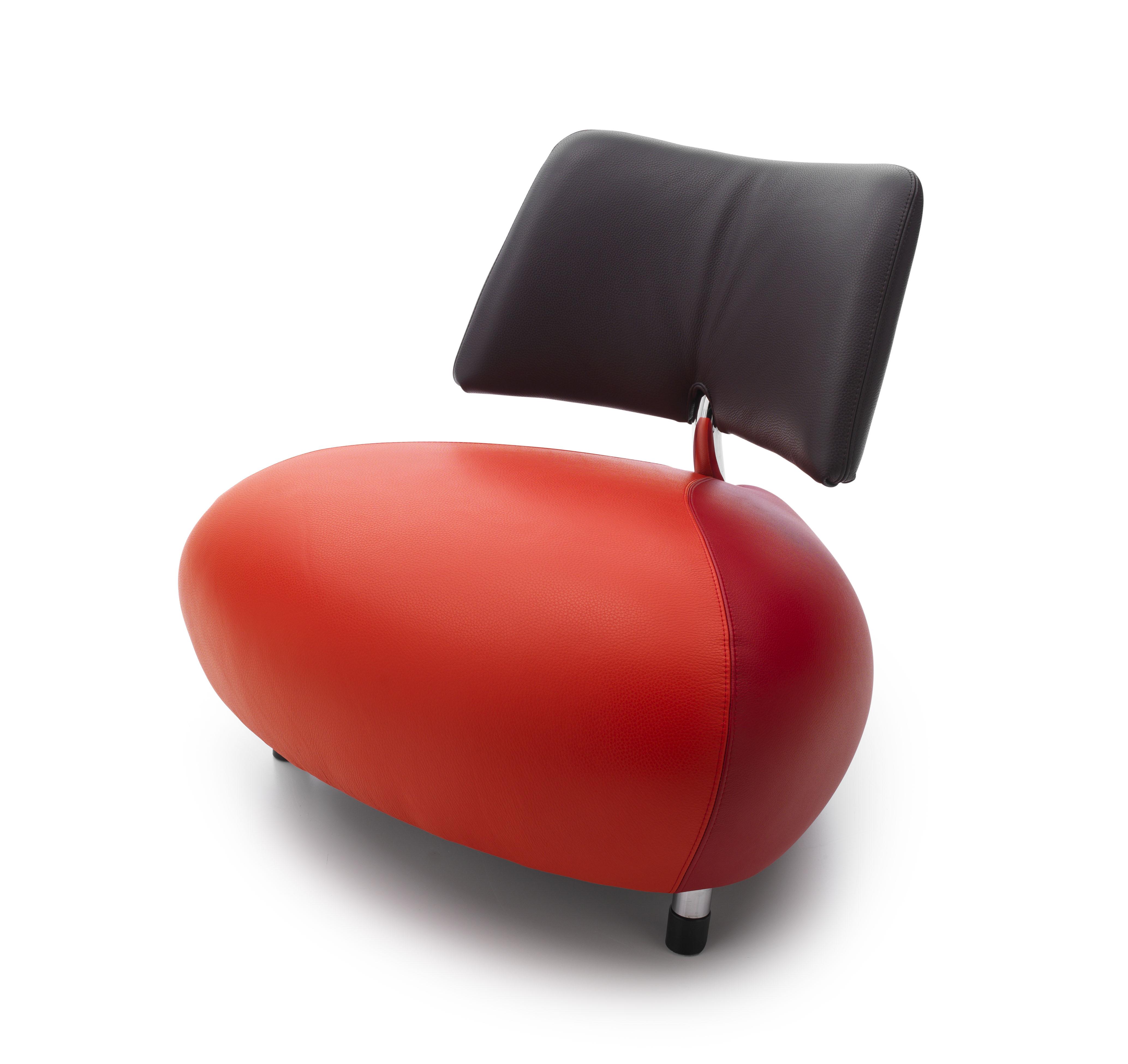 Moderne fauteuil pallone leolux de canapee for Zitmeubelen