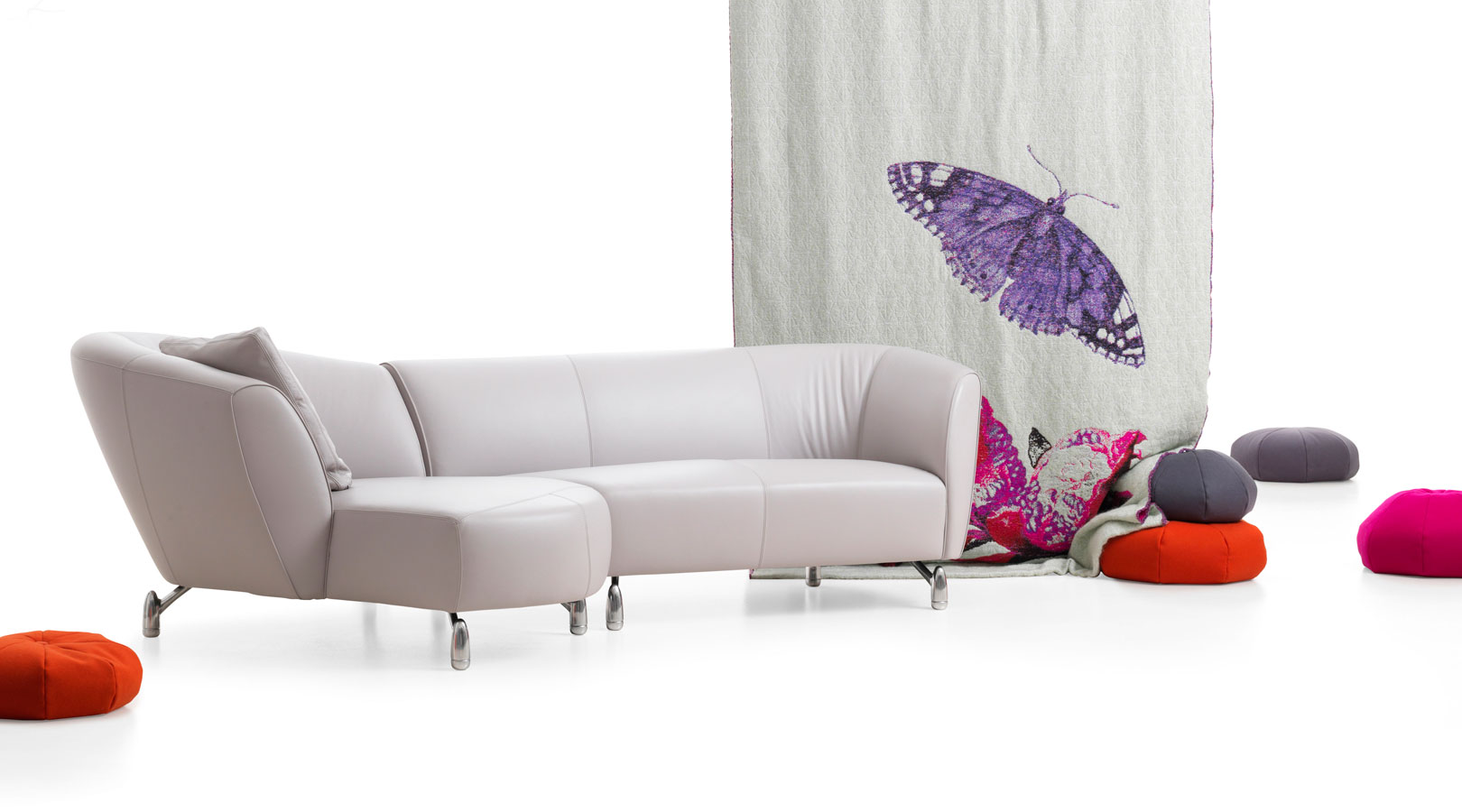 lounge zetel leolux collectie de canapee