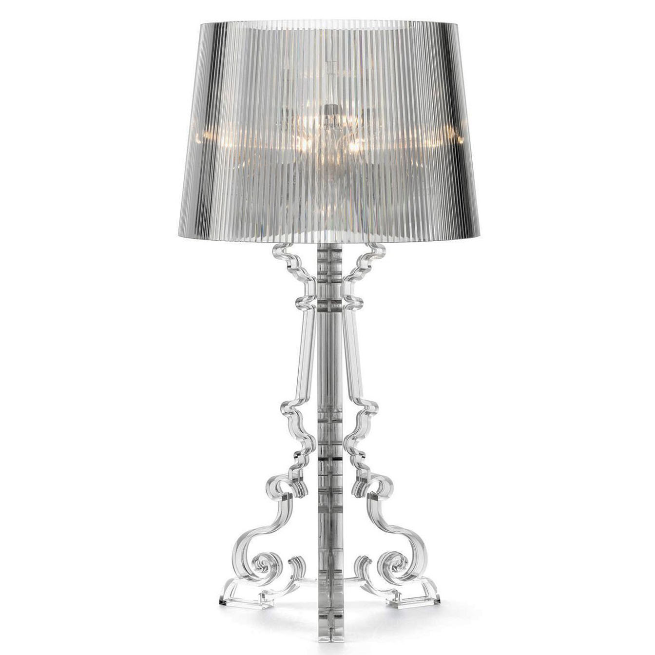 lampe bourgie kartell lampe de table bourgie h 68 78 cm. Black Bedroom Furniture Sets. Home Design Ideas