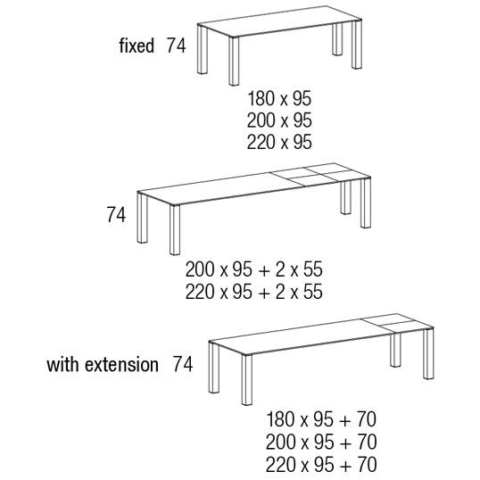 Design Tafel Opera - Jori tafels : De Canapee