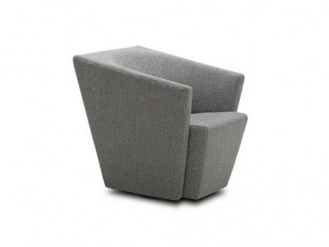 stof outback 331 - fauteuil : 1x siersteek - glijpootjes